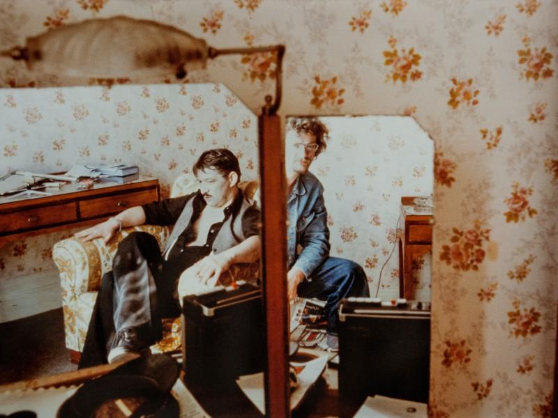 Fassbinder & Christian Braad Thomsen (Foto: Dino Raymond Hansen)
