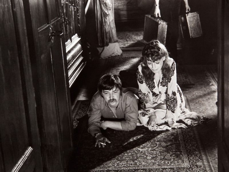 Fassbinder & Margit Carstensen (Foto: Westdeutcher Rundfunk)